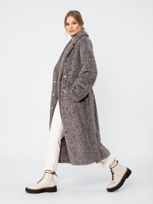 Пальто женское зимнее м. 1013141p60091 Искусственный мех