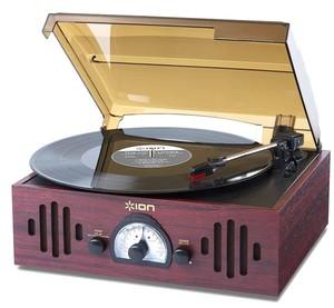 Виниловый проигрыватель ION TRIO LP с радио