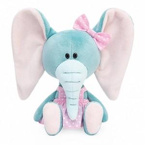 SA15-30 Слониха Симба в розовом сарафане, 15см
