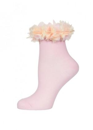 LARMINI Носки LR-S-FLO-K, цвет розовый