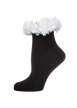 LARMINI Носки LR-S-FLO-K, цвет черный