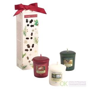 Набор: 3 аромасвечи для подсвечника