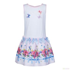Платье ПЛ-13289 Розовые облака