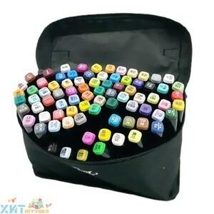 Набор маркеров для скетчинга 80 цв. двусторонние 80S, 80S
