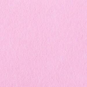 Фетр листовой мягкий IDEAL 1 мм 20х30 см FLT-S1 упаковка 10 листов цвет 613 светло-розовый