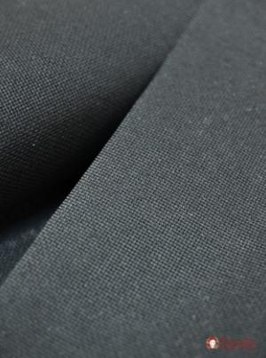 Канва аппретированная цв. черный , хлопок -100%, 1.5 м  №14