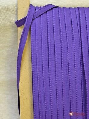 Тесьма отделочная, 12мм/кант 3мм, цв.фиолетовый