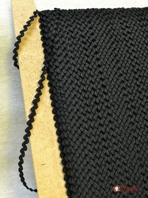Вьюнчик  цв.черный, 6мм, п/э-100%