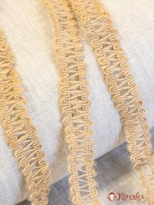 Тесьма плетеная, 16 мм, джут-100%