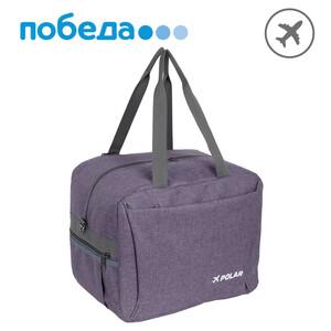 Дорожная сумка П9014 (Серо-фиолетовый)