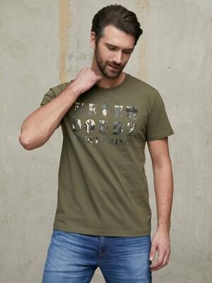 Фуфайка (футболка) муж BeGood SS21MJ223A Safari камуфляж
