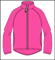 ФЛ 34011/н/33 Куртка для девочки