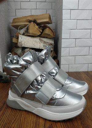Дутики Pirochi арт. WB 4080-R серебро