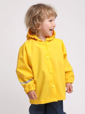 Непромокаемая куртка Желтая