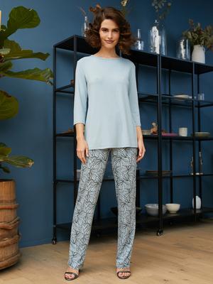 Комплект жен:футболка(фуфайка) д/рук,брюки Mia Cara SS21WJ306