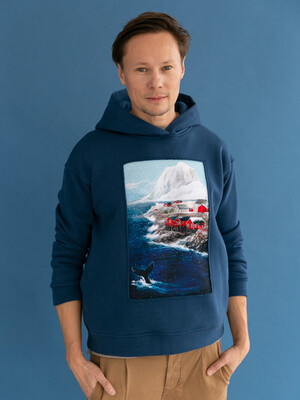 Толстовка Lofoten islands мужская
