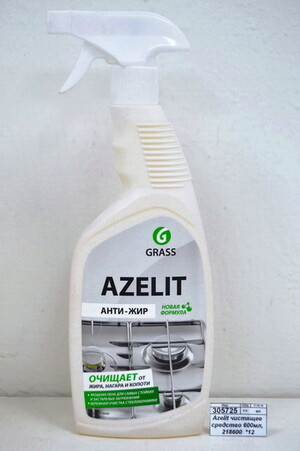 Azelit чистящее средство Антижир с курком 600мл *12 218600