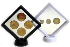 Рамка для монет с подставкой размера 110х110 мм