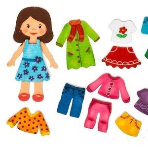 Кукла из фетра Алина