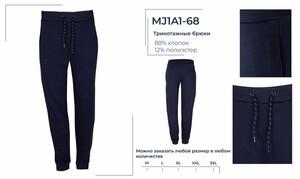 MJ1A1-68 Брюки трикотажные мужские BROSTEM, шт