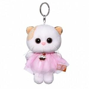Кошечка Ли Ли в платье брелок, 12см