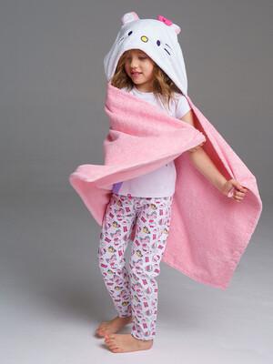 Полотенце текстильное для девочек