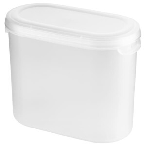 JÄKTIG ЭКТИГ Контейнер+крышка д/сухих продуктов1.1 л