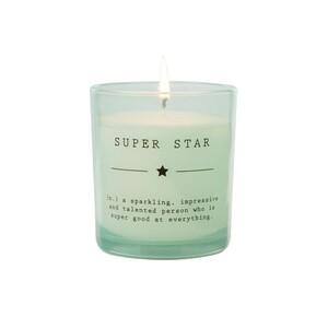Свеча ароматическая в стекле Супер звезда