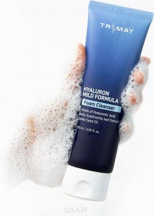 Пенка для умывания TRIMAY Hyalurone Mild Formula Cleansing Foam(120 мл)