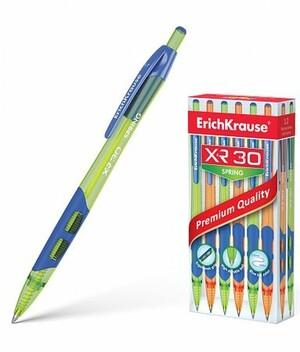 Ручка автоматическая шариковая 0.7мм 43622 XR-30 Spring синяя Erich Krause {Китай}