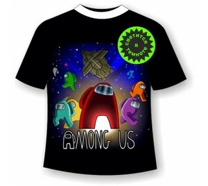 Детская футболка Among Us 1142