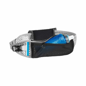 1142001081 сумка поясная Ultra™ Belt Black/Silver,1л,р.XS/S (бутылка в комплекте)