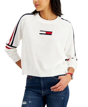 Tommy Jeans Flag Patch Sweater