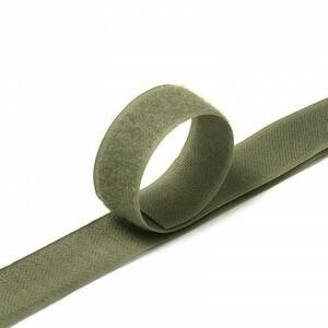 Лента-липучка 25 мм 1 м цвет F327 хаки