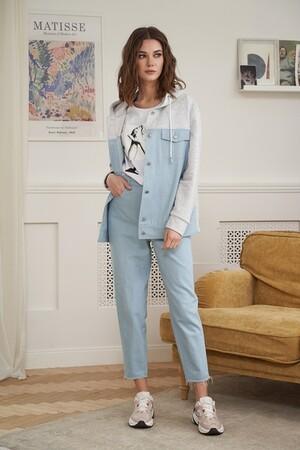 Фантазия мод Джинсовая куртка