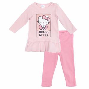 Комплект детский трикотажный для девочек: кофта, брюки