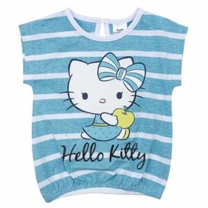 Фуфайка детская трикотажная для девочек (футболка)