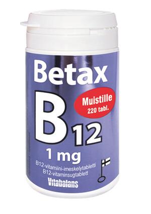VB Betax B12 1 мг помощь памяти 220 таблеток
