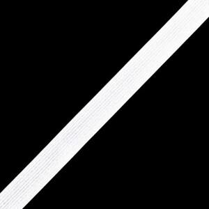 Резинка вязаная 20 мм 40 м цвет белый