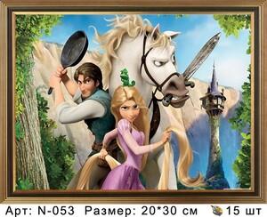 N-053 Картины по номерам 20х30 N