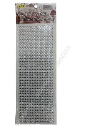 Стразы декоративные (504 шт) SF-3177, серебристые (арт. 195-20)