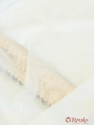 Клеевая сорочечно-плательная, цв.белый, ш.1,5м,  п/э-100%, 90гр/м.кв
