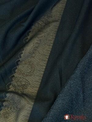 Клеевая на трикотажной основе, цв.черный, ш.1.45м, п/э-100%, 55гр/м.кв