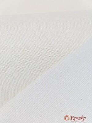 Клеевая повышенной плотности, цв.белый, ВИД1, ш.1.1м, хлопок-35%, п/э-65%, 120гр/м.кв