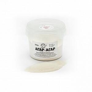 АГАР-АГАР 900  из морских водорослей 50 гр Поздний завтрак РР банка/24