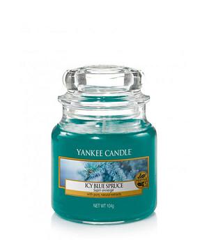 Icy Blue SpruceЗаснеженная ель свеча в малой банке