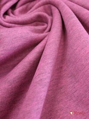 Футер 2-х нит с нач. Серо-розовый меланж СОРТ2, 2.08 м(1,04*2чул) КардеОе, хл-70%,п/э-30%,180гр/м.кв