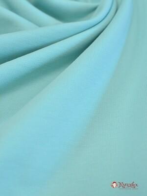 Футер-петля, цв.Светлая бирюза, Пенье, ш.1,98 м, хлопок-95% спандекс-5%, 275 гр/м.кв