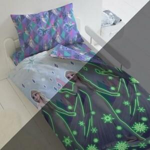 Подростковое постельное белье Холодное сердце Neon Магия Эльзы 1.5-спальный