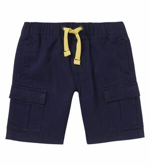 Cargo-Shorts elastischer Bund